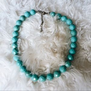 Jewelry - Blue Beaded Necklace